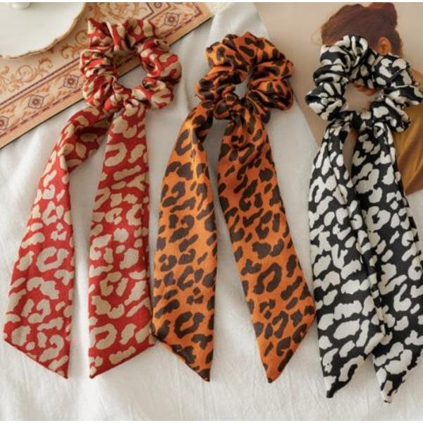 3st hårsnoddar , hair Scrunchies med scarf, hårband, Hair bands