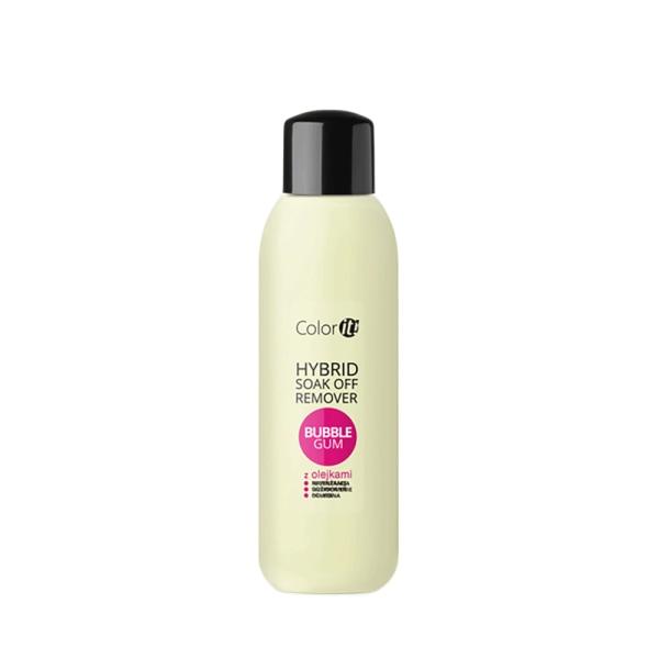 Color it - Soak off remover - Bubble gum 570ml