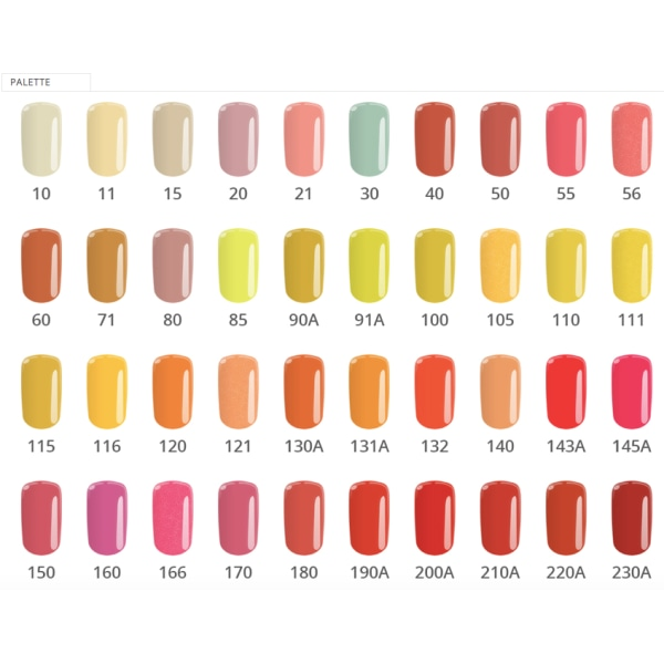Gellack - Color IT - *235 8g UV-gel/LED Röd