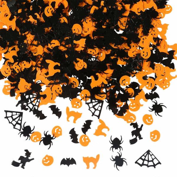 Halloween - konfetti med fina halloween detaljer