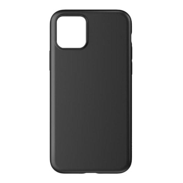 iPhone 12 / 12 Pro - Matt TPU case Svart