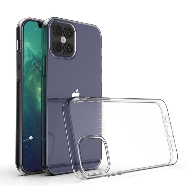 iPhone 12 / 12 PRO silikonskal TPU - Transparent Transparent