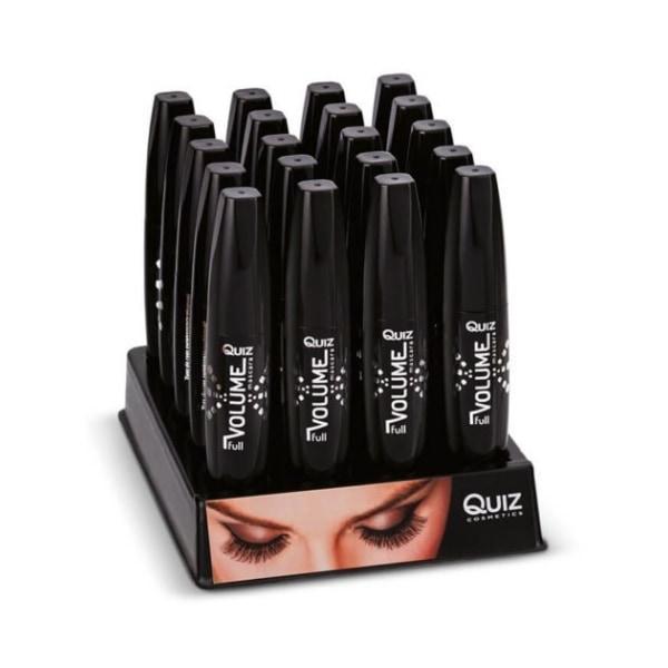 Mascara - Full Volume - Svart - Quiz Cosmetics Svart