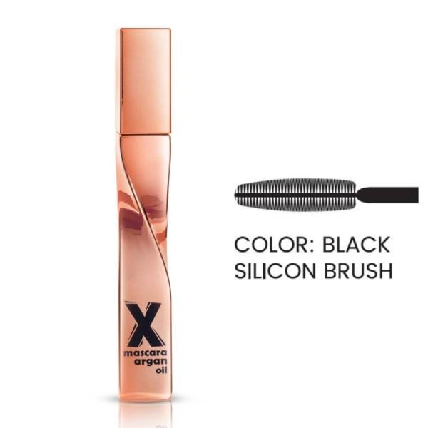 Mascara - X-mascara with argan oil - Svart - Quiz cosmetics Svart
