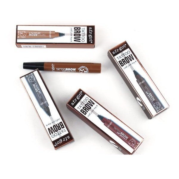 Ögonbrynspenna - eyebrow tattoo - micro pen tint Grey brown