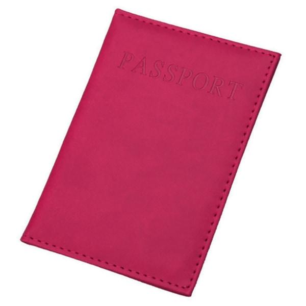 Passport fodral för ditt pass Mörkbrun