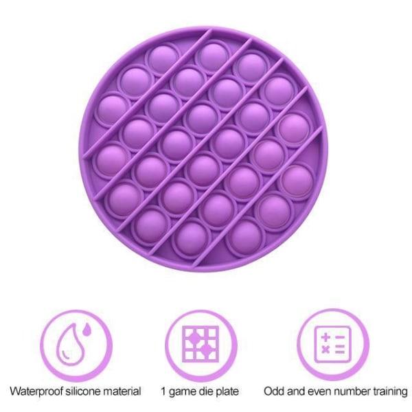 Pop it Fidget Toy Bubble Sensory Fidget Toy / Leksak- CE Rosa