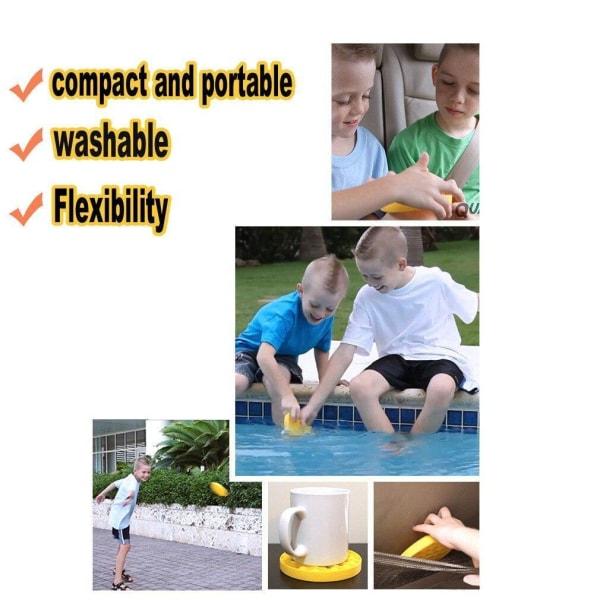Pop it Fidget Toy Bubble Sensory Fidget Toy / Leksak- CE Svart