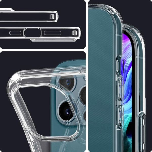 iPhone 12 Pro Max Skal Genomskinligt TPU iPhone 12 Pro Max