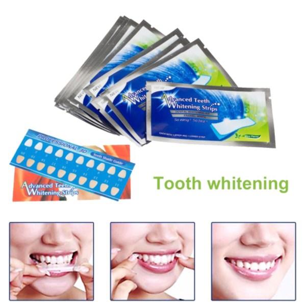 Tandblekning - Dental 360 Whitening Strips (50-pack) 50-pack