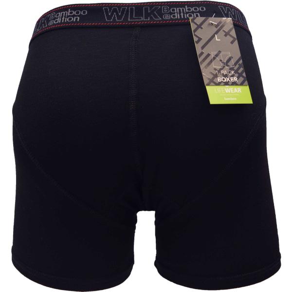 Boxerkalsonger Bambu 5-Pack Svart XL