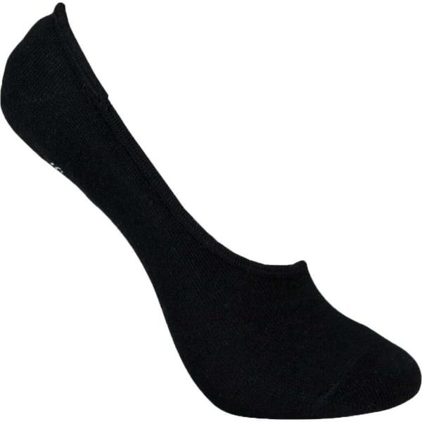 Invisible Socks Bambu 3-Pack Svart 37-39