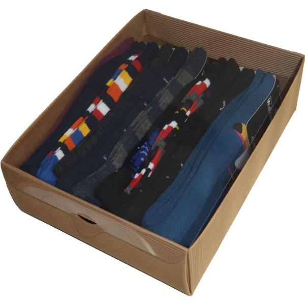 Roliga bambustrumpor 10-Pack Roliga Färger 39-42