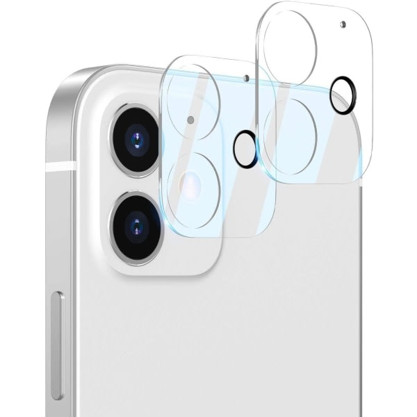 2x Iphone 12 Bakkamera skydd
