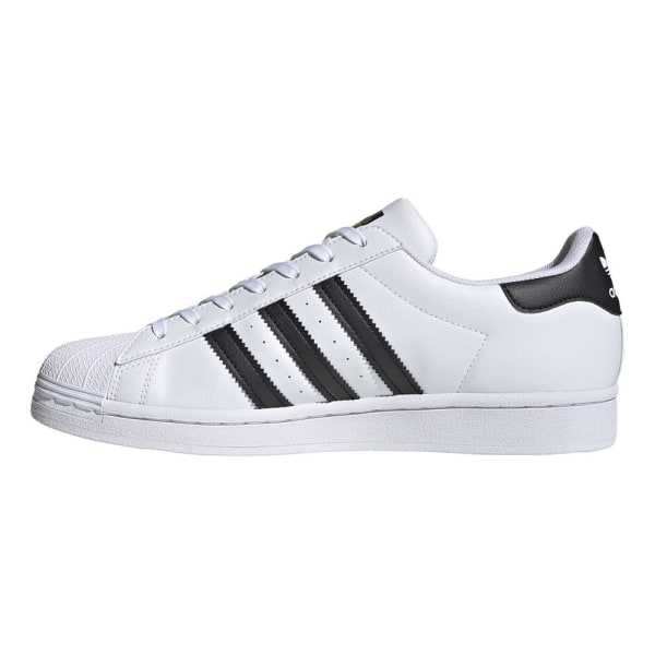 Adidas Superstar Vegan Vit,Svarta 44 2/3