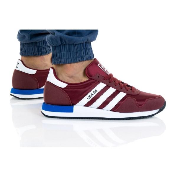 Adidas Usa 84 Rödbrunt,Vit 41 1/3