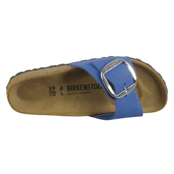 Birkenstock Madrid Big Buckle Blå 35