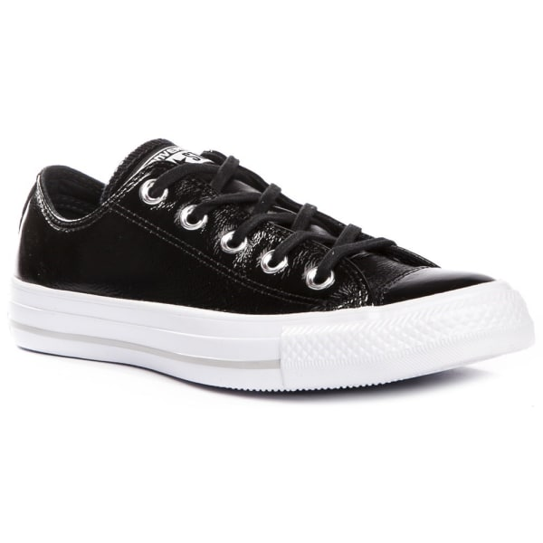 Converse Chuck Taylor All Star Crinkled Patent Leather Svarta 40