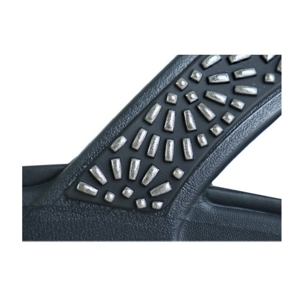 Crocs Monterey Diamante Svarta 36