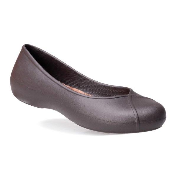 Crocs Olivia II Lined Flat Bruna 38