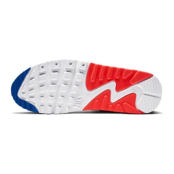 Nike Air Max 90 Vit,Röda,Blå 36