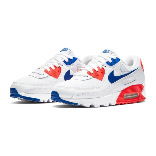 Nike Air Max 90 Blå,Vit,Röda 39