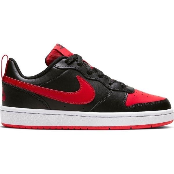 Nike Court Borough 2 Vit,Svarta,Röda 37.5