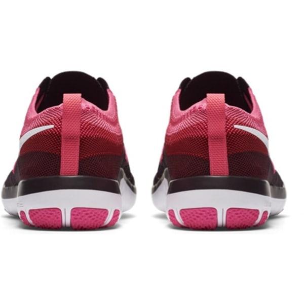 Nike Free Focus Flyknit Svarta,Grafit,Rosa 38