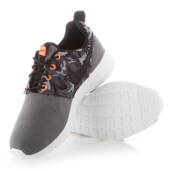 Nike Roshe One Print GS Gråa 38.5