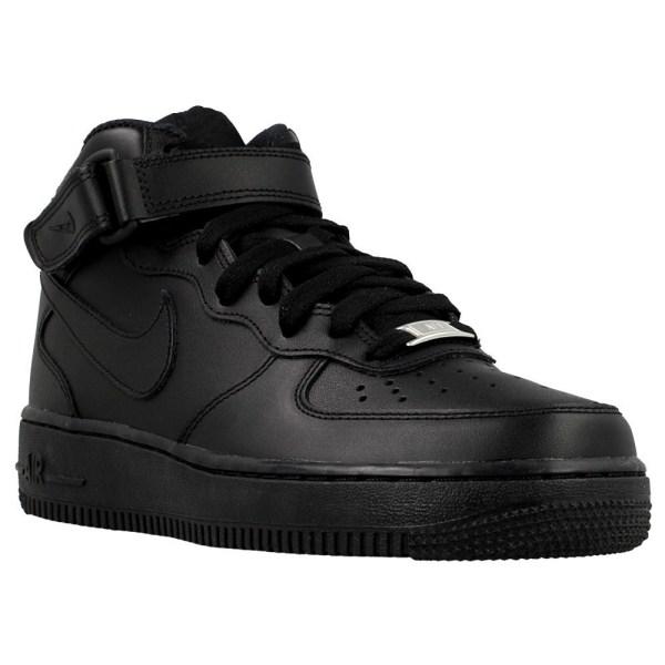 Nike Wmns Air Force 1 Mid 07 LE Svarta 36.5