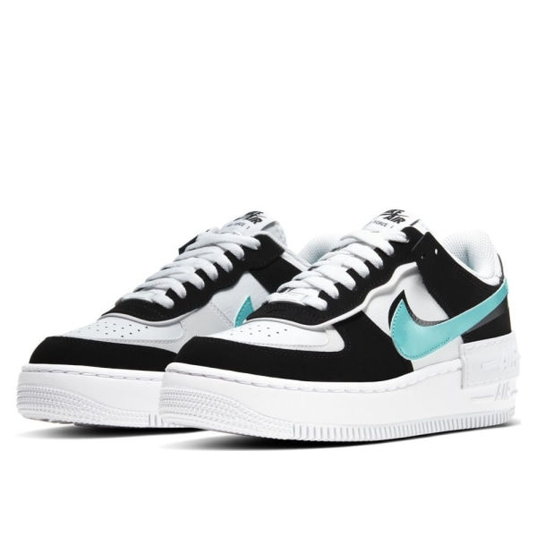 Nike Wmns Air Force 1 Shadow Vit,Svarta 39