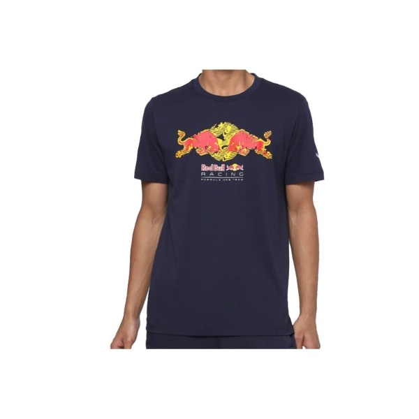 Puma Red Bull Racing Double Bull Tee Grenade 192 - 197 cm/XXL