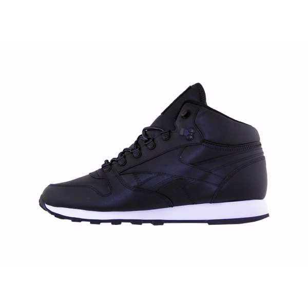 Reebok CL Leather Mid Basic Grenade,Svarta 40.5