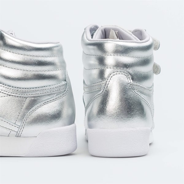 Reebok W Freestyle HI Silver 35.5
