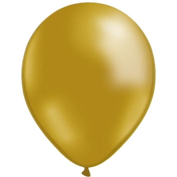 Ballonger 24-pack  - Guld, Röd och Blå multifärg