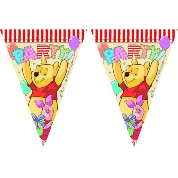 Disneys Nalle Puh Party Flaggirlang | Vimpelgirlang | Vimpel multifärg