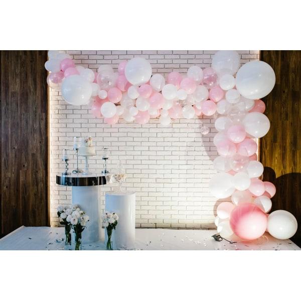 Girlangband för ballonger - skapa enkelt ballongbågar Transparent
