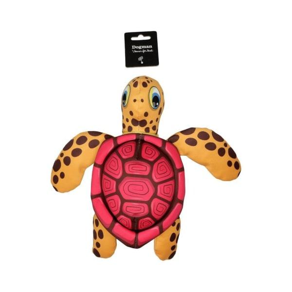 Flytande Sköldpadda rosa- Dogman multifärg