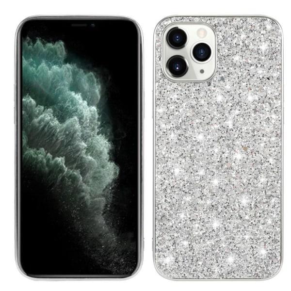 Glitter skal- iPhone 12 / 12 PRO  Silver