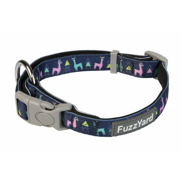 Halsband No probllama- Fuzzyard MultiColor L