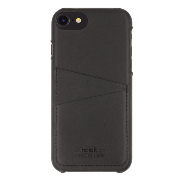 Holdit- iPhone 6/7/8/ SE 2020 - Skal med kortfack Svart