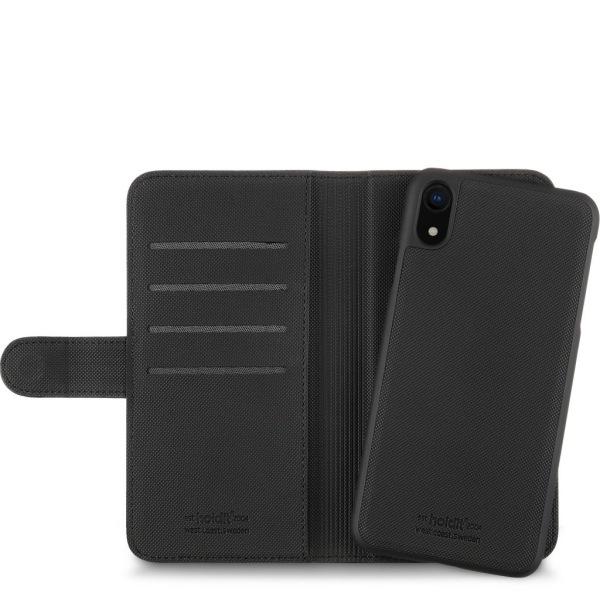Holdit- iPhone XS MAX- Plånbok med magnetskal Svart