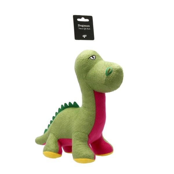 Hundleksak Brontosaurus-Dogman multifärg