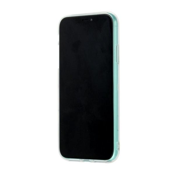 Mönstrat skal med marmor för iPhone 11  multifärg