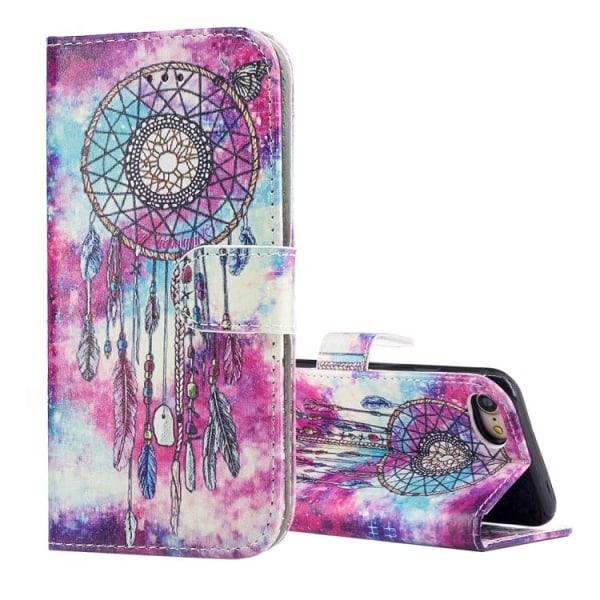 Plånbok med drömfångare till iPhone 7/8/SE 2020 multifärg