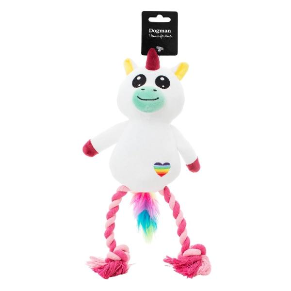 Plysch Kawaii Unicorn Vit