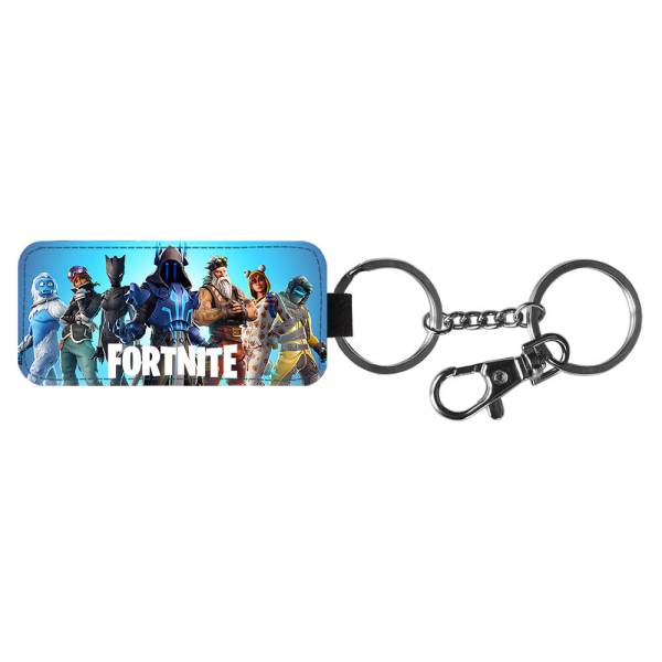 Fortnite Season 7 Nyckelring Multifärg One Size