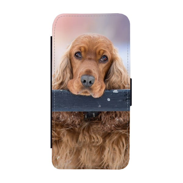 Hund Cocker Spaniel iPhone 11 Pro Max Plånboksfodral