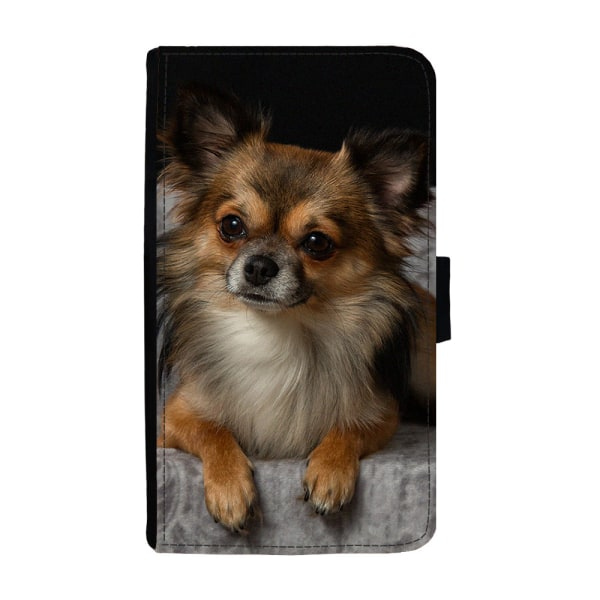 Långhårig Chihuahua iPhone 5C Plånboksfodral