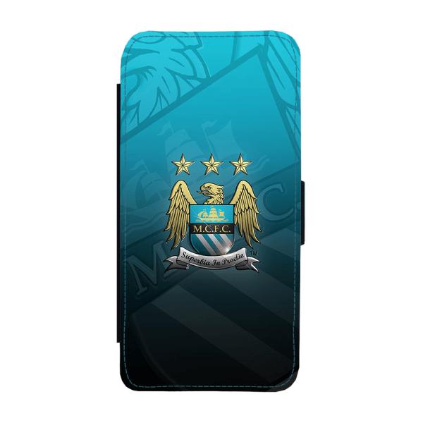 Manchester City iPhone XS Max Plånboksfodral